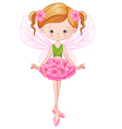 Flower Fairy vector image vector image