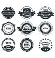 Retro Vintage Label collection vector image vector image