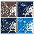 deep space explorer vector image