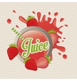 Juice icon design vector image