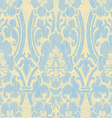 Light abstract striped floral pattern vintage vector image