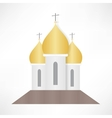Orthodox Cathedral Church vector image