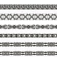 brushwebbing pattern vector image vector image
