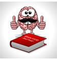 Brain Food - Soul Food vector image vector image