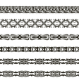 brushwebbing pattern vector image