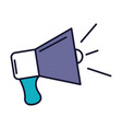 Megaphone sound isolated icon vector image