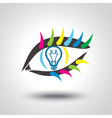 Creative idea Conceptual background vector image vector image