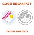breakfast 1205 elements 03 vector image