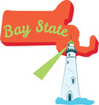Bay State vector image