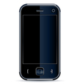 Phone isolated on white vector image