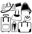 bag set vector image
