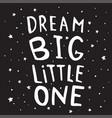 black dream poster vector image