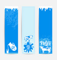 fresh milky banner design vector image