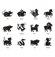 Chinese Zodiac1 vector image
