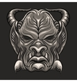 Demon Mask vector image