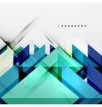 Squares and shadows - tech abstract background vector image vector image