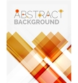 Straight glossy geometric design lines vector image vector image