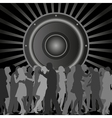 discotheque vector image
