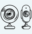 Webcam vector image