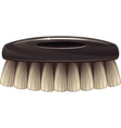 Clothes brush vector image