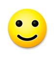 Yellow laughing happy smile emoji smile symbol vector image vector image