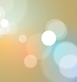 Abstract Bokeh Lights Vintage Background vector image