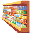 Supermarket vector image