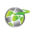 interworld logo vector image vector image