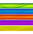 colorful banners vector image vector image