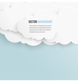 abstract background bubble Paper vector image