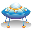 A flying saucer vector image vector image