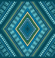 stripes bright tribal seamless pattern with zigzag vector image