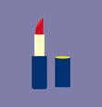 Lipstick Make Up Icon vector image
