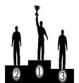 Award of men vector image