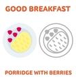 breakfast 1205 elements 04 vector image