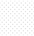Dotted seamless background vector image