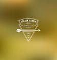 Archery Club Label vector image