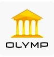 Olympus logo template vector image