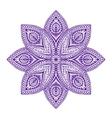 Mandala Beautiful vintage round pattern vector image vector image