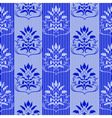 blue seamless pattern vector illustration vector image
