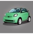 Printgreen compact vehicle vector image