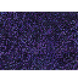 Seamless abstract pixel mosaic pattern Violet vector image vector image