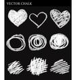 Chalk Circles vector image