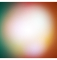 Abstract multicolored defocused lights background vector image