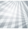 Abstract perspective background with white grey vector image