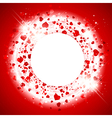 StValentine Day Heart Background vector image vector image