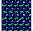 Christmas wallpaper vector image vector image