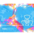 Creative radioactively Art vector image