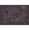 duoton background blot balls vector image