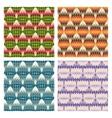 geometric multicolor seamless pattern vector image